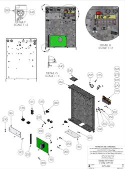 Doorking Parts Slide Gate Operator 9310 Doorking