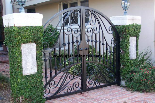 Superb Dual Garden Gate Can Be Made In A Single Garden Gate As Well, Can Be