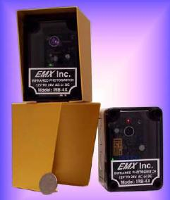 EMX Photo-Cell Safety Sensor - EMX IRB-4X Infrared Modulates Photo-Cell