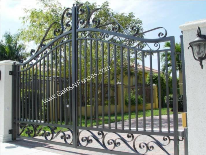 Driveway Gates Wrought Iron Aluminum Driveway Gate Iron