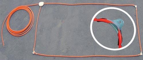 Preformed Loop Vehicle Safety Loop Saw Cut Loop Direct Burial Loop on