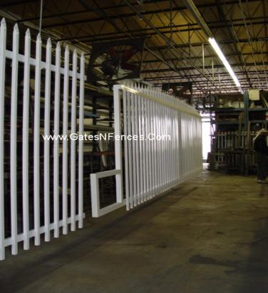 Sliding Picket Gate Fence, Picket Fence Panels, White Picket Fence