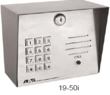 American Access Systems, DKLP 1950-I With Intercom -100 CODE KeyPad, Programmable Keypad Low Power Comsumption