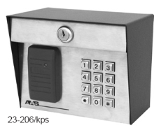 AAS ProxPad Keypad with Proximity Card Reader AAS 23 206kp