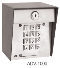 American Access Entry System ADV 1000 Stand Alone Keyless