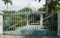Decorative Aluminum Driveway Gates - Angelic Security: Aluminum Decorative Driveway Gates