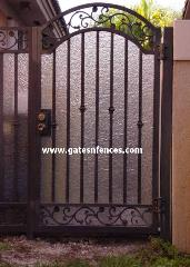 Privacy Garden Gates Privacy Decorative Gate Iron Aluminum