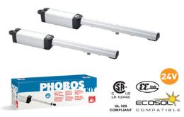 BFT Phobos 24V easy install complete kits