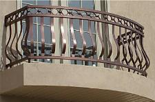 Custom Belly Railing, Old Style Belly Railing with a Modern Flair