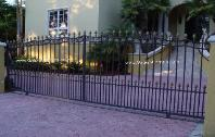 Ornamental Gates - Ornamental Iron Driveway Gates Design