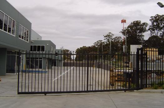Industrial Safety Gates, Industrial Swing Gates, Industrial Slide Gates, Industrial Security Gate