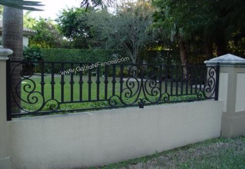 Estate Fences Aluminum Estate Fences Iron Aluminum