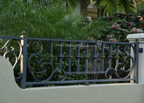 Decorative Metal Fencing, Decorative Metal Fence, Decorative Wrought Iron  Fencing, Residential Fencing