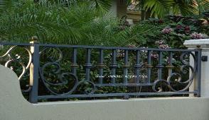 decorative aluminum fencing. echelon residential decorative