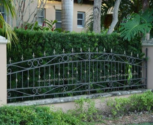 Aluminum Garden Fence Steel Picket Fences Home