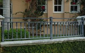 Wrought Iron or Rod Iron Fences | Residential Wrought Iron Fence | Security Wrought Iron or Rod Iron Fencing