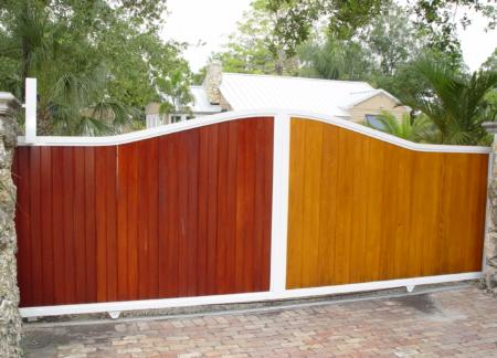 Wooden Privacy Aluminum Driveway Gate easy Installation How to Build a Privacy Gate