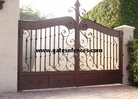 Safety Gate with Security Gate Panel Backing, adding a Privacy Panel will give you more Secury
