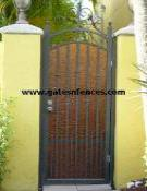 Privacy Garden Gates, Large Selection of Custom Decorative Ornamental Metal Garden Gates