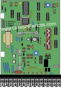 Doorking 1601-010  Main Circuit Control Boards and Control Panels for Gate Openers and Operators