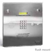 Doorking 1803 Entry System - DKS 1803 Digital Telephone Entry Systems Flush Mount