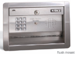 Doorking 1812 Telephone Intercom Entry System, DKS 1812 Intercom System Flush Mount