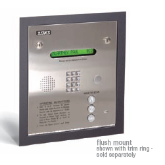 Doorking 1834 Surface Mount Access Control Telephone Entry System 125 Memory