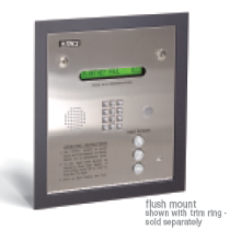 Doorking 1835 Entry System, Doorking 1835 Commercial Telephone Entry System Flush Mount