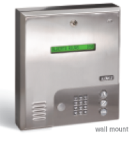Doorking 1835 Entry System, Doorking 1835 Commercial Telephone Entry System Wall Mount