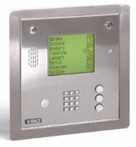 Doorking 1837 Telephone Entry System - DKS Access Control Door Entry System Flush Mount