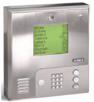 Doorking 1837 Telephone Entry System - DKS Access Control Door Entry System Wall Mount