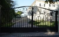Driveway Automatic Security Gates | Aluminum or Wrought Iron Automatic Door Gates