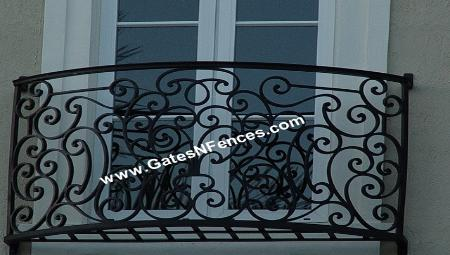 Iron Balcony Railing, Iron Balcony Railings, Aluminum Balcony Railing,