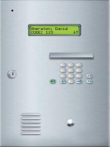 Elite Dial Code Telephone Entry System For Perimeter