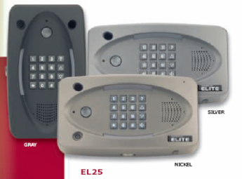 Elite EL25 Residential and Commercial Telephone Entry System with Expanded Capacity and Enhanced Versatility