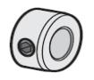 Elite SL3000UL or Robo Slide Gate Operator Parts - Elite Q156 Collar 3/8