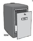 Elite Q244Cover HD Polyethylene