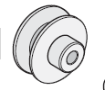Elite Q021 Gear Pulley