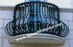 Exterior Railing Wrought Iron Exterior Railings Aluminum Guard Rails