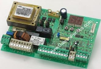 FAAC Control Board, FAAC 790926 on 455D Control Panel, 230V