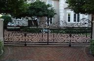 Aluminum or Wrought Iron Driveway Gate - Custom Entry Sliding or Swinging Driveway Iron Gates