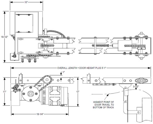 power master overhead doors operators powermaster door openers gt model