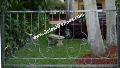 Wrought Iron Railings - Iron Deck Railings - Front Porch Iron Railings