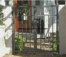 Custom Iron Gates Custom Fence and Gates