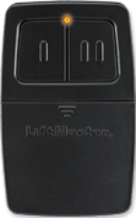 Liftmaster 375LM Dual Frequency MHZ , Two Button Transmitter, 2 Channel Clicker