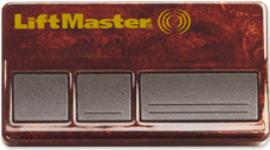 Liftmaster 373W 315 MHZ Three Button Transmitter, Three Channel Clicker Remote Control