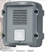 Liftmaster GAILM, Gate Access Intercom, Wireless Control of 1 Door or Gate
