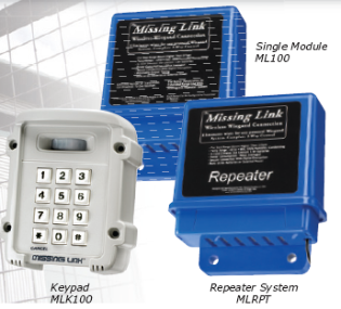 Liftmaster ML100, MLK100, or MLRPT Missing Link Wireless Weigand Data System