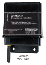 Liftmaster MUOTIUEX Exterior Multi Unit Telephone Interface