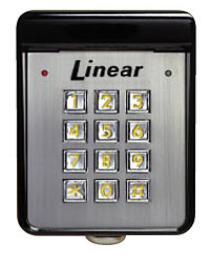 Linear Ak 11 Keypads Linear Ak 11 Exterior Digital Keypad